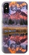 Teton Sunrise Spectacular IPhone Case