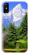 Tetons 3 IPhone Case