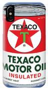 Texaco Can IPhone Case