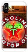 Texaco Gasoline IPhone Case