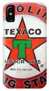 Texaco Sign IPhone Case