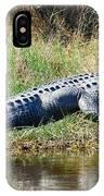 Texas Alligator IPhone Case