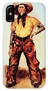 Texas Cowboy IPhone Case