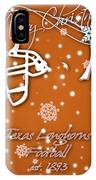 Texas Longhorns Christmas Card IPhone Case