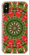 Texas Paintbrush Kaleidoscope IPhone Case