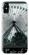Texas Star Aqua Poster IPhone Case