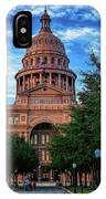 Texas State Capitol IPhone Case