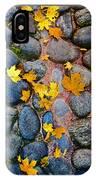Texture. Autumn. IPhone Case