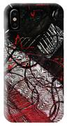 Textured Abstract Art IPhone Case