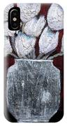 Textured Blooms IPhone Case