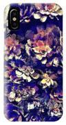 Textured Garden Succulents IPhone Case