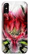 Textured Lily IPhone Case