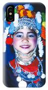 Thai Girl Traditionally Dressed IPhone Case