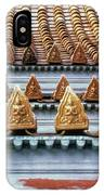 Thai Temple Roof IPhone Case