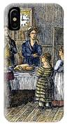 Thanksgiving, 1853 IPhone Case