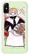 Thanksgiving Lady Pilgrim IPhone Case