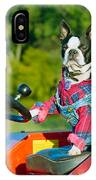 That Is One Hard Workin' Farm Dog IPhone Case