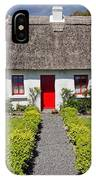 Thatch Roof Cottage Ireland IPhone Case