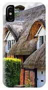 Thatched Cottages In Chawton 2 IPhone Case