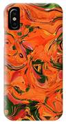 The Abstract Days Of Autumn IPhone Case