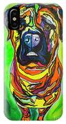 The Abstract Mastiff IPhone Case