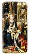The Adoration Of The Magi IPhone Case