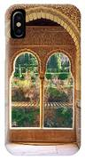 The Alhambra Torre De La Cautiva IPhone Case