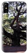 The Angel Oak In Charleston Sc IPhone Case