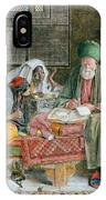 The Arab Scribe Cairo IPhone Case