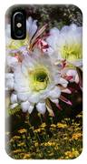 The Argentine Giant Amongts The Yellow Wildflowers IPhone Case