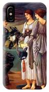 The Arming Of Perseus 1885 IPhone Case
