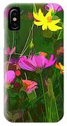 The Artistic Side Of Nature IPhone Case