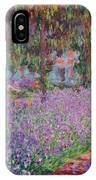 The Artists Garden At Giverny IPhone X Case