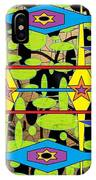 The Arts Of Textile Designs #28 IPhone Case