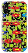 The Arts Of Textile Designs #42 IPhone Case