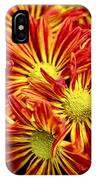 Chrysanthemum Bouquet IPhone Case