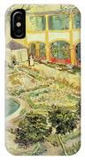 The Asylum Garden At Arles IPhone Case