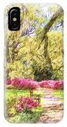 The Azalea Garden IPhone Case