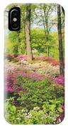 The Azalea Woodland IPhone Case
