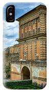 The Back Of The Pitti Palace In Florence IPhone Case