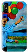The Balloon Vendor IPhone Case