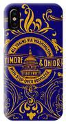 The Baltimore And Ohio Railroad IPhone Case