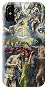 The Baptism Of Christ IPhone Case