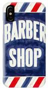The Barber Shop IPhone Case