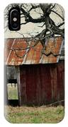 The Barn Out Back IPhone Case