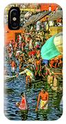 The Bathing Ghats IPhone Case