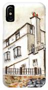 The Bay Hotel In Robin Hoods Bay IPhone Case