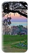 The Bay View Bench IPhone Case