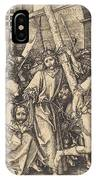 The Bearing Of The Cross With Saint Veronica IPhone Case
