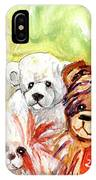 The Bears From The Yorkshire Moor 02 IPhone Case